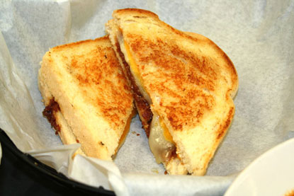 House Made Bacon Jam Grilled Cheese